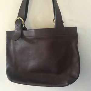 Coach Vintage 4140 Soho Buckle Bag Purse Leather